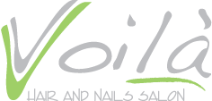 Voila Hair and Nails Logo